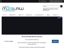 Tablet Preview of m23law.co.uk
